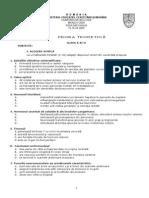 2009 Biologie Etapa Nationala Subiecte Clasa a XI-A 2