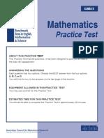Mathematics Practise Test
