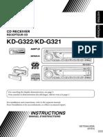 Jvc Kd-g321 User Manual