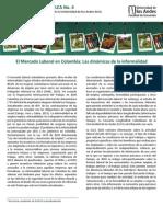 Mercado Laboral en Colombia 2013