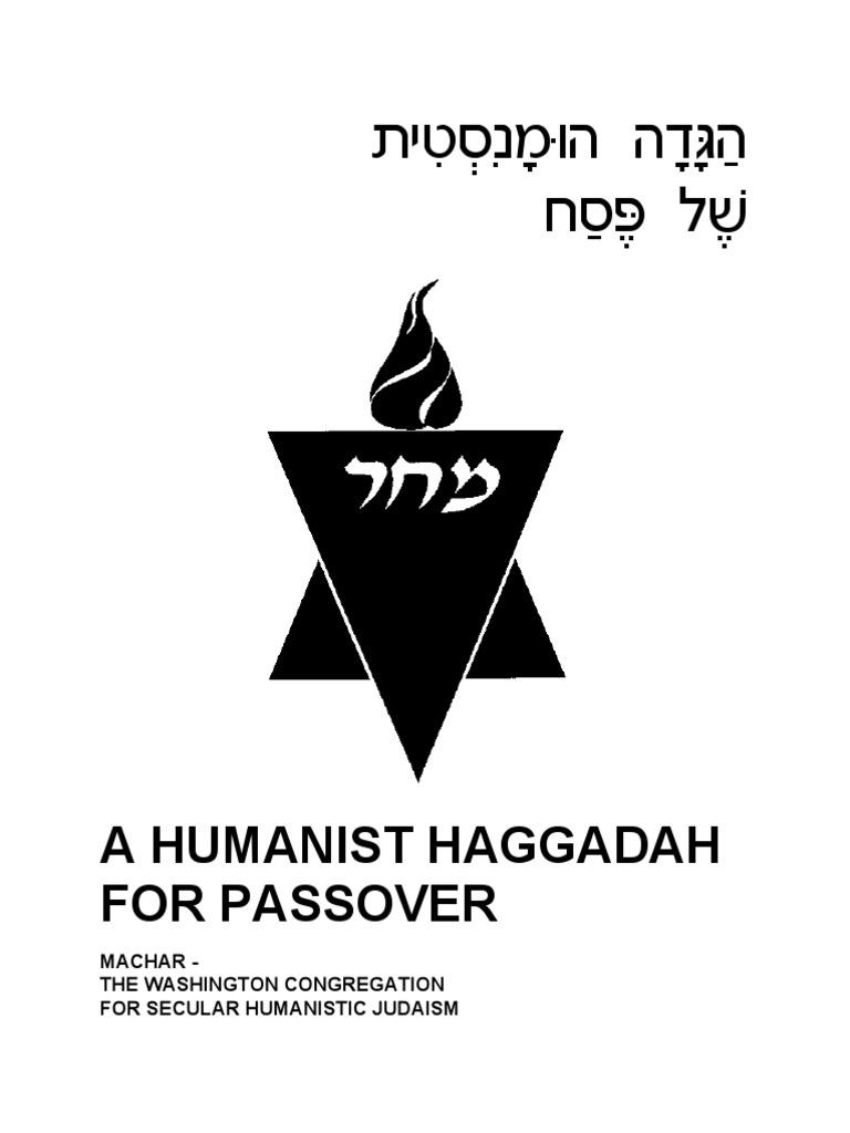 Humanist Haggadah Passover Seder Passover