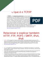 O que é o TCP