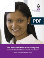 ActEd Student Brochure 2014