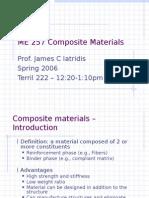 ME 257 Composite Materials