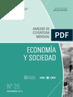 ECONOMIA Y SOCIEDAD - N 26 - NOVIEMBRE 2014 - PARAGUAY - PORTALGUARANI