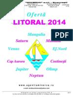 Oferta Litoral 2014