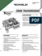 Harmonic Drive Draw Transmissions Specs