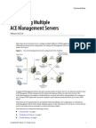 Configuring Multiple ACE Servers