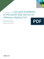 SQL Server Vsphere55 Perf