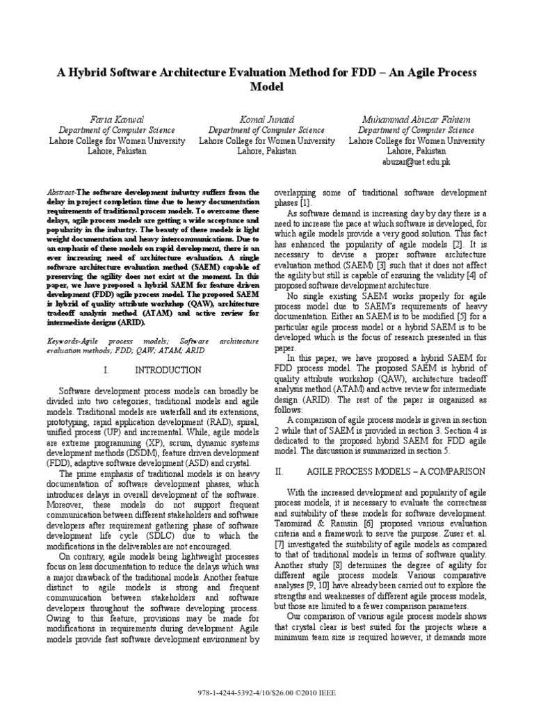 Case Study 2 Scrum and FDD | Agile Software Development