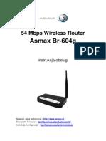 Instrukcja router Asmax
