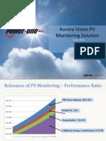 Aurora Vision Solution Overview June 2012