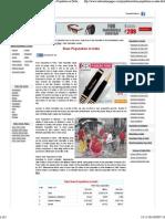 Slum Population in India- Slums in India 2014- Slum Population in Delhi, Mumbai and Chennai