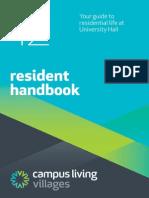 University Hall 2012 Handbook