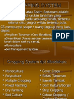 Ix. Cropping System