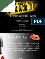 Forensik Serologi Saliva