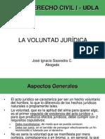 5.-La Voluntad Jurídica -UDLA