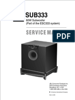 JBL ESC333 60W Subwoofer