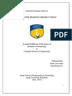 Summer Training Report Format for Cse (1) - Copy - Copy