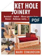 Pocket Hole Joinery - Bookshelf, Picture Frame,Dresser,Bathroom Vanity