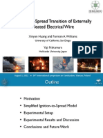 Ignition-to-Spread Transition of Electrical Wire fires