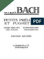 Bach - Twelve Small Preludes (Versión 2)