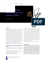 Importancia de la Medicina Legal en la práctica médica