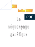 Le séquençage génétique.pdf