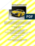 Selimut Mobil Renault PINBB 51EBA220
