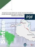 Exemplo de Projeto Mdl Termeletrica