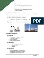 4. Desprendimiento de Gases
