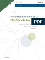 Finance Sociale Gouv Fédéral