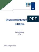 Operaciones de Regasificacion de Gnl en Argentina