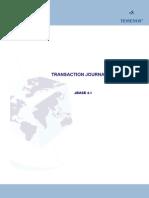 JBASE Transaction Journalling