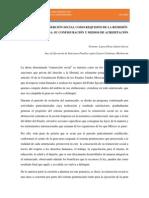 LA EFECTIVA REINSERCIÓN SOCIAL COMO REQUISITO DE LA REMISIÓN PARCIAL DE LA PENA