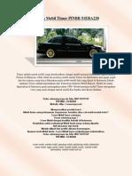 Sarung Mobil Timor PINBB 51EBA220