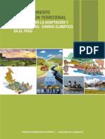 El Ordenamiento y la Gestión Territorial para Facilitar la Adaptación y Mitigación del Cambio Climático en el Perú
