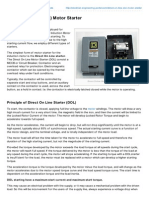 Electrical-Engineering-portal.com-Direct on Line DOL Motor Starter