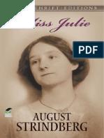 August Strindberg Domnisoara Julia