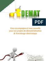 Plaquette de présentation XDEMAT