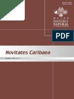 HORAS DE ÉXODO Y ESTACIONALIDAD DE LOS MURCIÉLAGOS EN  CUATRO CUEVAS DE REPÚBLICA DOMINCANA