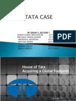 TATA Case on Unrelated Diversification