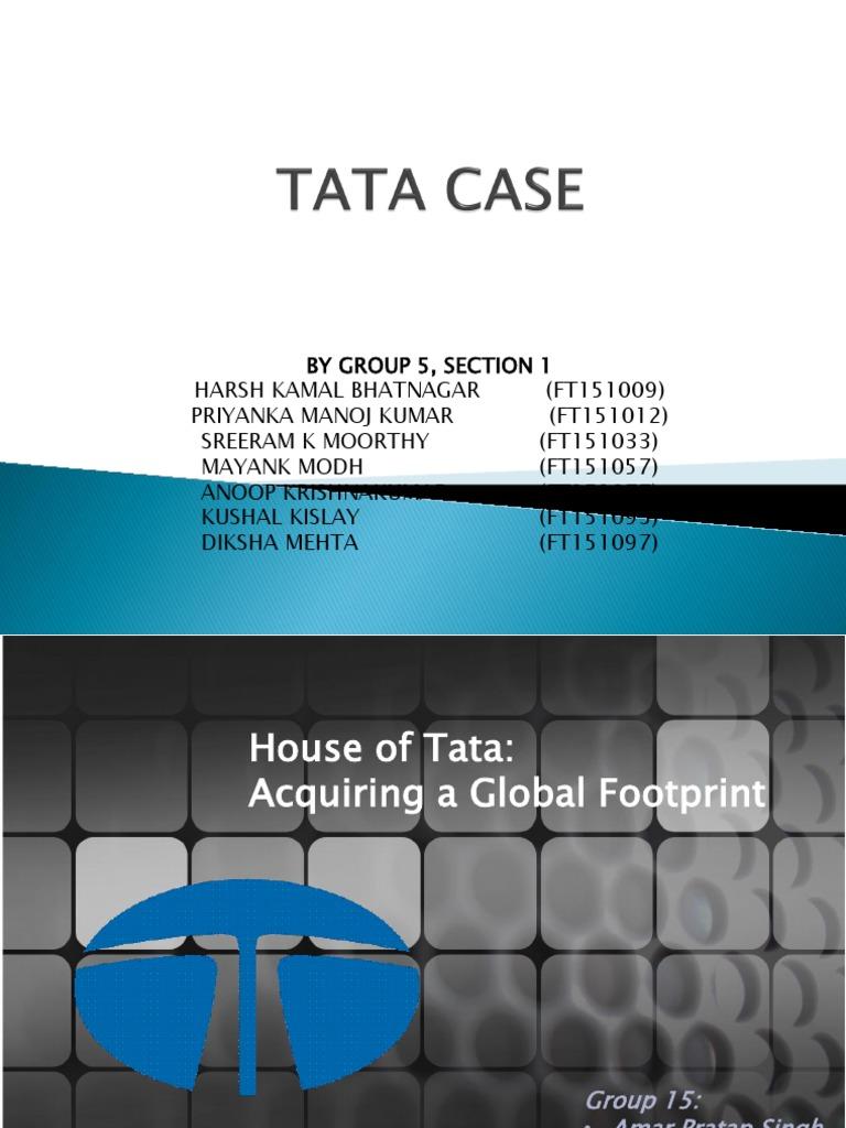Tata Group- Diversification   Business