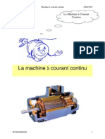 La machine à courant continu