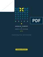 Annual Survey of Indian City Systems