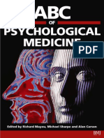 abc of psychological medicine