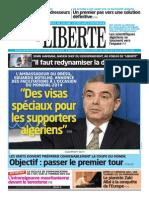 Liberte Algerie 25 Novembre 2013