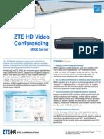 ZTE M900 Datasheet