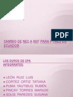 Nec a Niif Con Est Financ