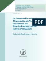 Convencion Sobre Eliminac. Toda Forma Discriminacion Contra La Mujer (CEDAW)
